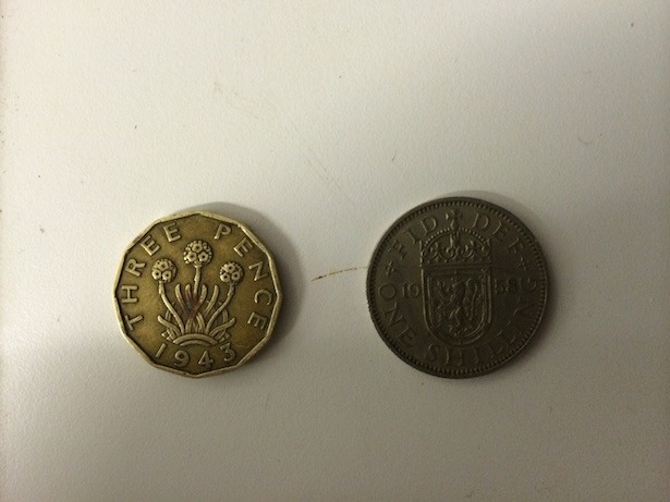Coins found at Harwich